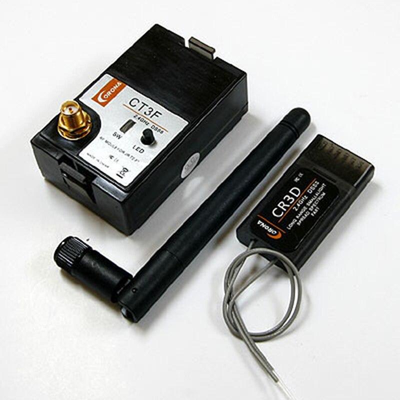 Original Corona modèle 2.4G DSSS FUTABA 3PK transmetteur Kit de mise à niveau Module modèle CT3F + RC récepteur CR3D pour FUTABA