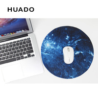 Starry Sky Round Mouse Pad Gaming Mouse Mat Non Slip Mousepad Desktop Mat For Steelseries Office