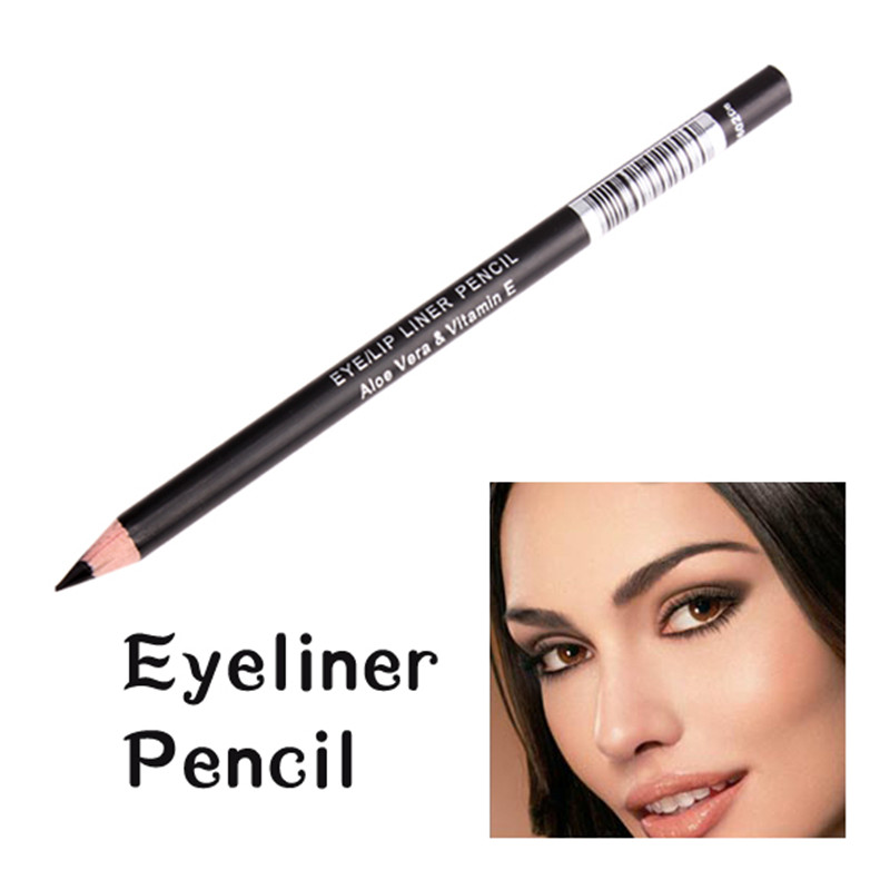 Waterproof Black Eyebrow Pen Lasting Charming Cosmetics Eyeliner Pencil Women Eyes Makeup Eyeliner Pen water resistant cosmetic makeup liquid eyeliner thick pen black