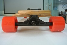 Free Shipping 39.5″x10″ Bamboo Downhill Long board High Quality Truck And Wheels Bamboo Longboard Skateboard