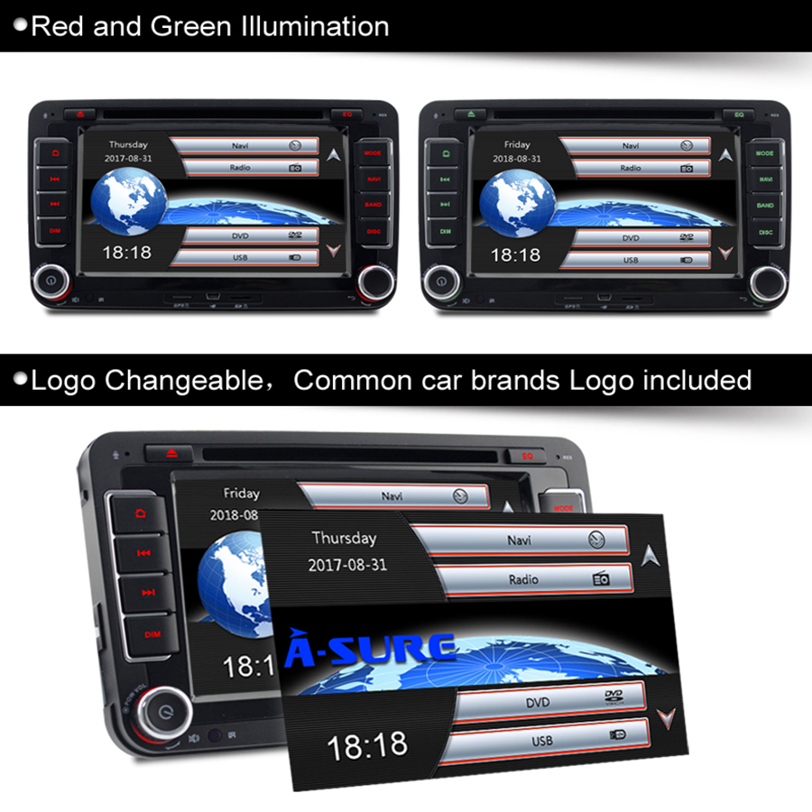 A sure dvd player navigation gps radio for vw passat b6 t5 seat a sure dvd player navigation gps radio for vw passat b6 t5 seat jetta polo sharan touran transporter tiguan golf 5 6 mk6 caddy in car multimedia player from fandeluxe