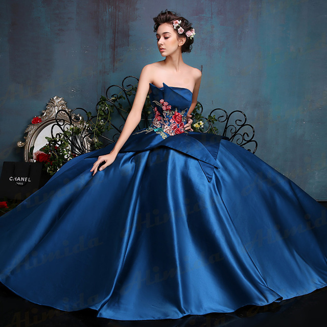 Stunning Evening Dress 2017 New Design Evening Gown Wedding Party ...