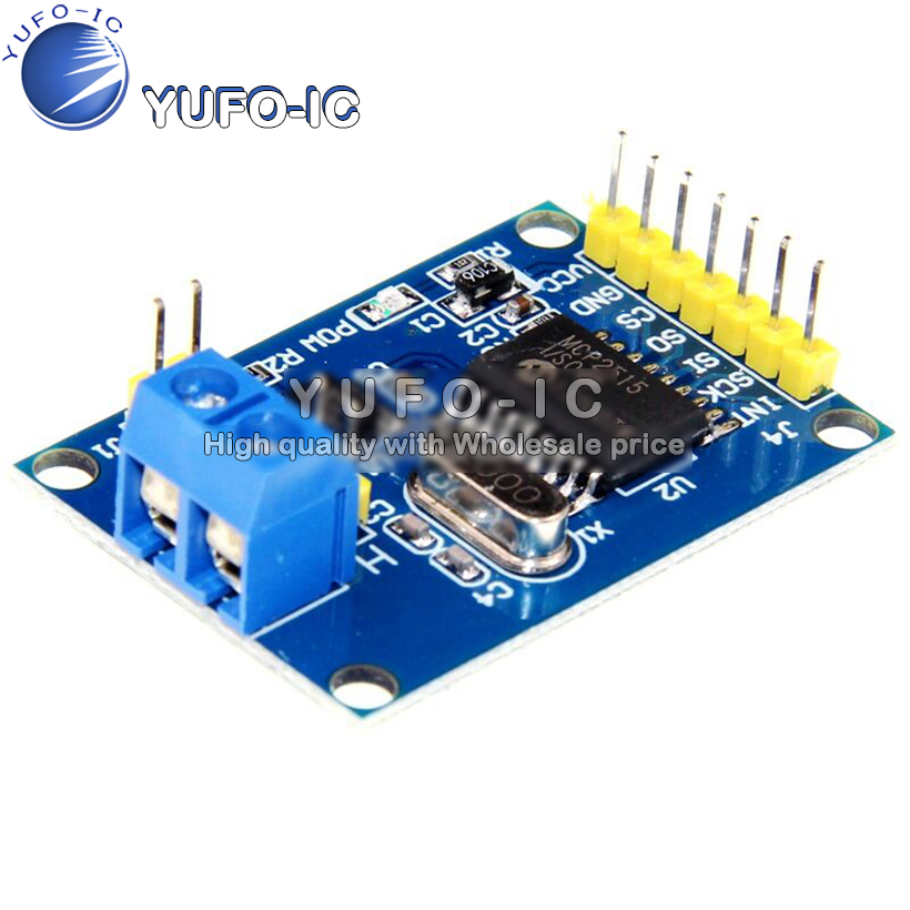 MCP2515 CAN Bus Module TJA1050 receiver SPI Protocol 51 1-chip program routine image