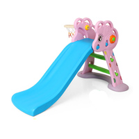 New mini plastic baby slide Kindergarten combination indoor slide and Playground slide