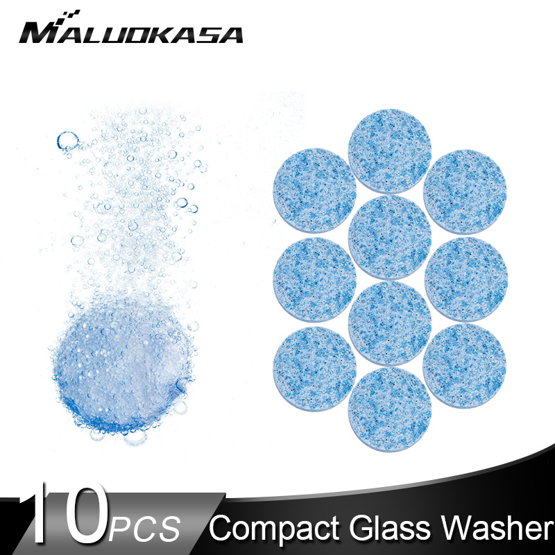 Car-Cleaner Windshield-Glass Effervescent Tablets Cleaning-Decontaminate 40l-Water 10pcs