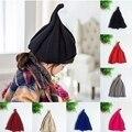 1-8 Años de La Nueva Manera Del Estilo Coreano de punto Sombrero de Otoño Invierno para niños kids niños niñas cap aguja calabaza sombrero de 6 colores