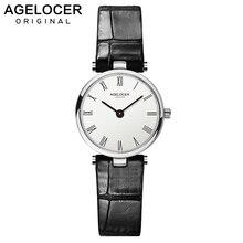 AGELOCER Women Watches Fashion Swiss Brand Watch Luxury Small Utra Slim Casual Waterproof Clock Dress Relogio Feminino Watches
