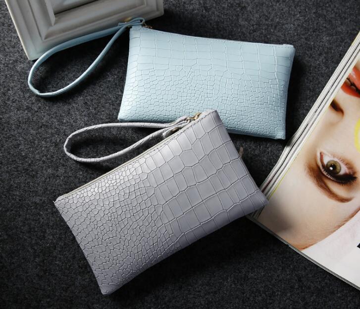 Envío de la manera 2018 FBrans el nuevo monedero de sobres, bolsos de las señoras seis colores puede choosed carpeta