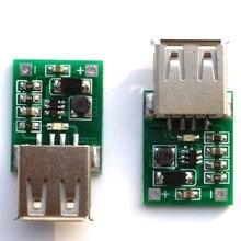 1 шт./лот DC 0,9 V-5 V USB Зарядное устройство Step Up Модуль мобильного Мощность DC-DC повышающий преобразователь постоянного тока с доска