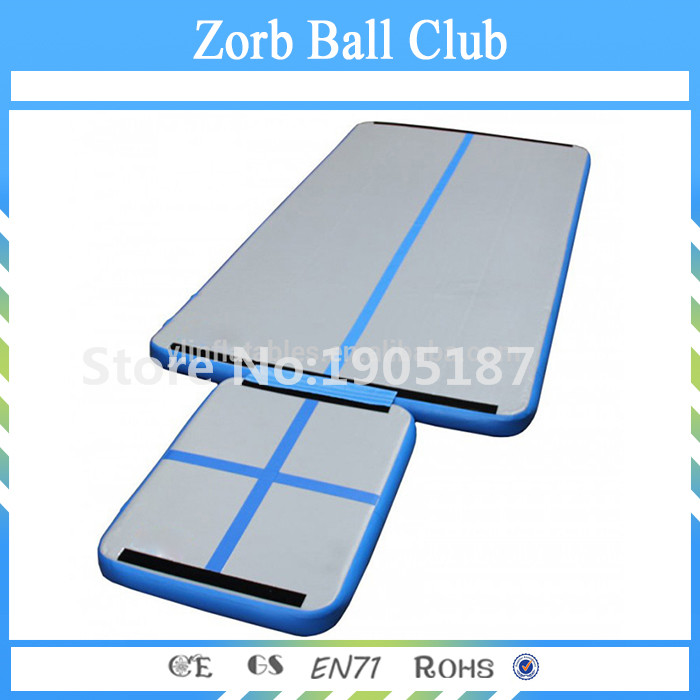 Free Shipping Durable Drop Stitch Material Water Boards Inflatable Gym Mattress Hook & Loop Connect Air Mats free shipping pvc tarpaulin material summer water sports inflatable water volleyball court inflatable water games equipment