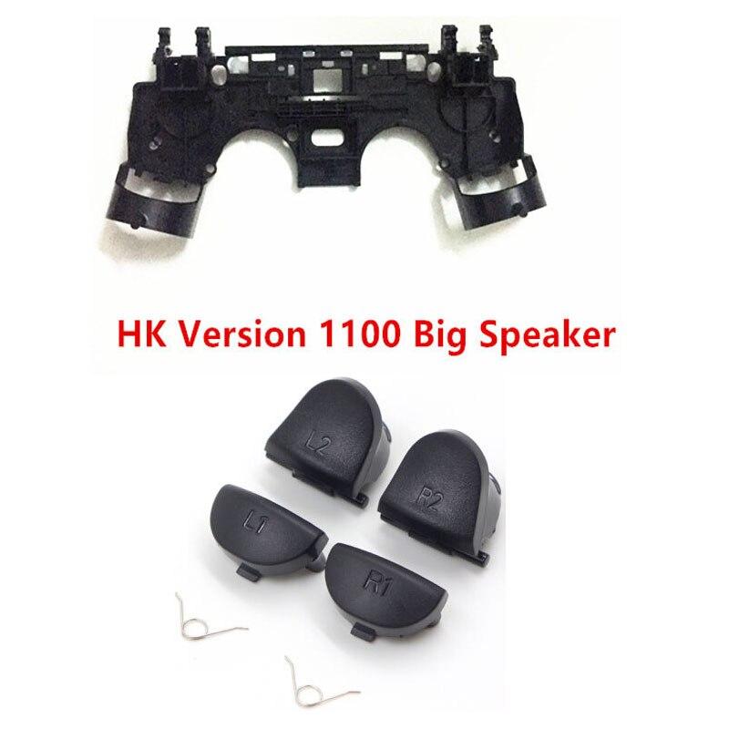Купить с кэшбэком L1 R1+L2 R2 Trigger Buttons+R1 L1 Key Holder Internal Shock Motor Support For PlayStation4 PS4 Pro Slim JDS 030 JDS 040 Repair