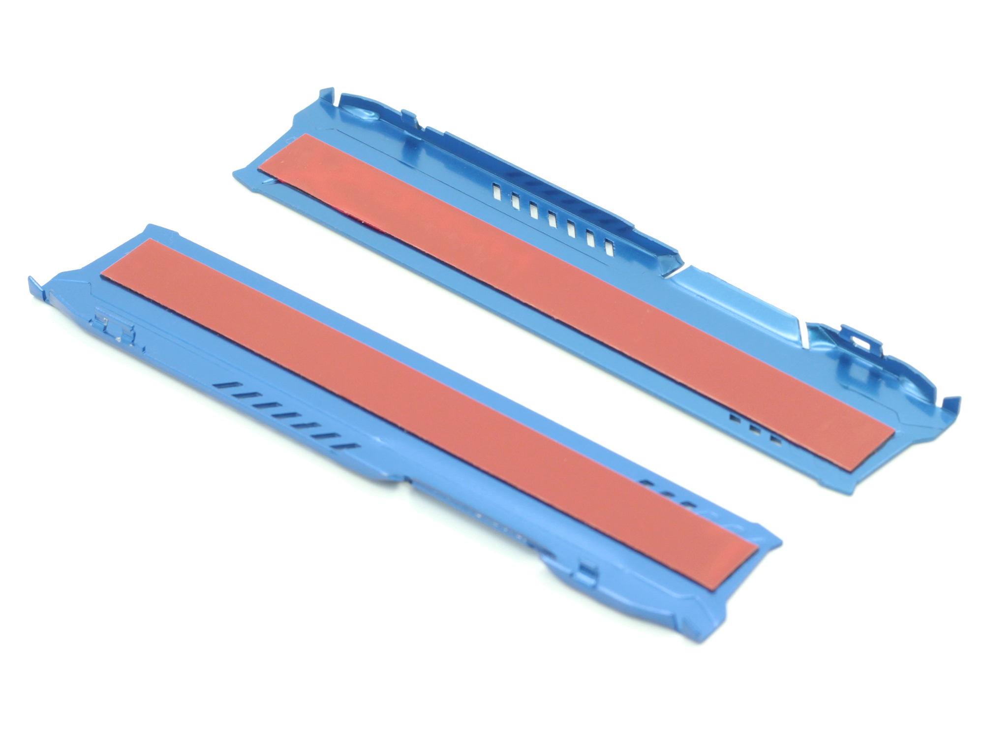 Blue Heat Sink For Memory RAM Cool Vest Fin Radiation Dissipate PC DDR DDR3 DDR4