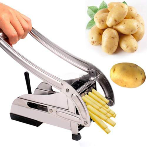 Stainless Steel French Fry Chopper Chips Making Tool Fries Cutter Potato Vegetable Slicer kitchen accessories gadget tools