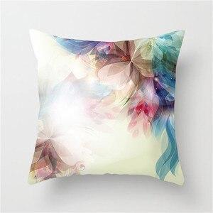 Чехол на подушку с цветочным принтом Fuwatacchi, наволочка, чехол домашние декоративные Чехлы для подушек, диван, подушка для автомобильного кре...