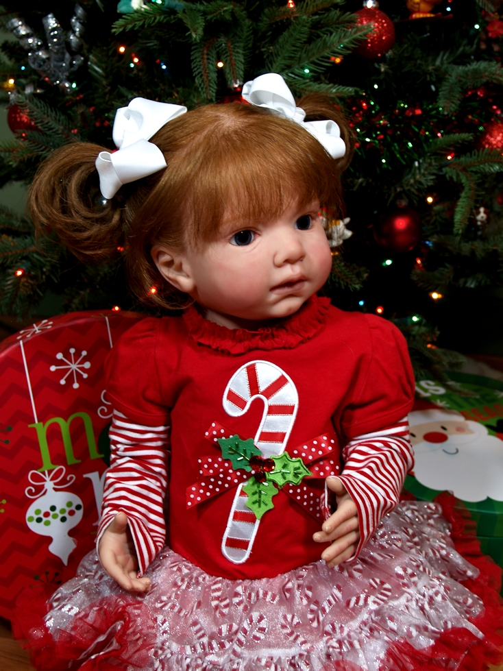 hotsale doll kit DIY blank kit soft silicone vinyl 28inches reborn toddler kit LEONTYNE popular