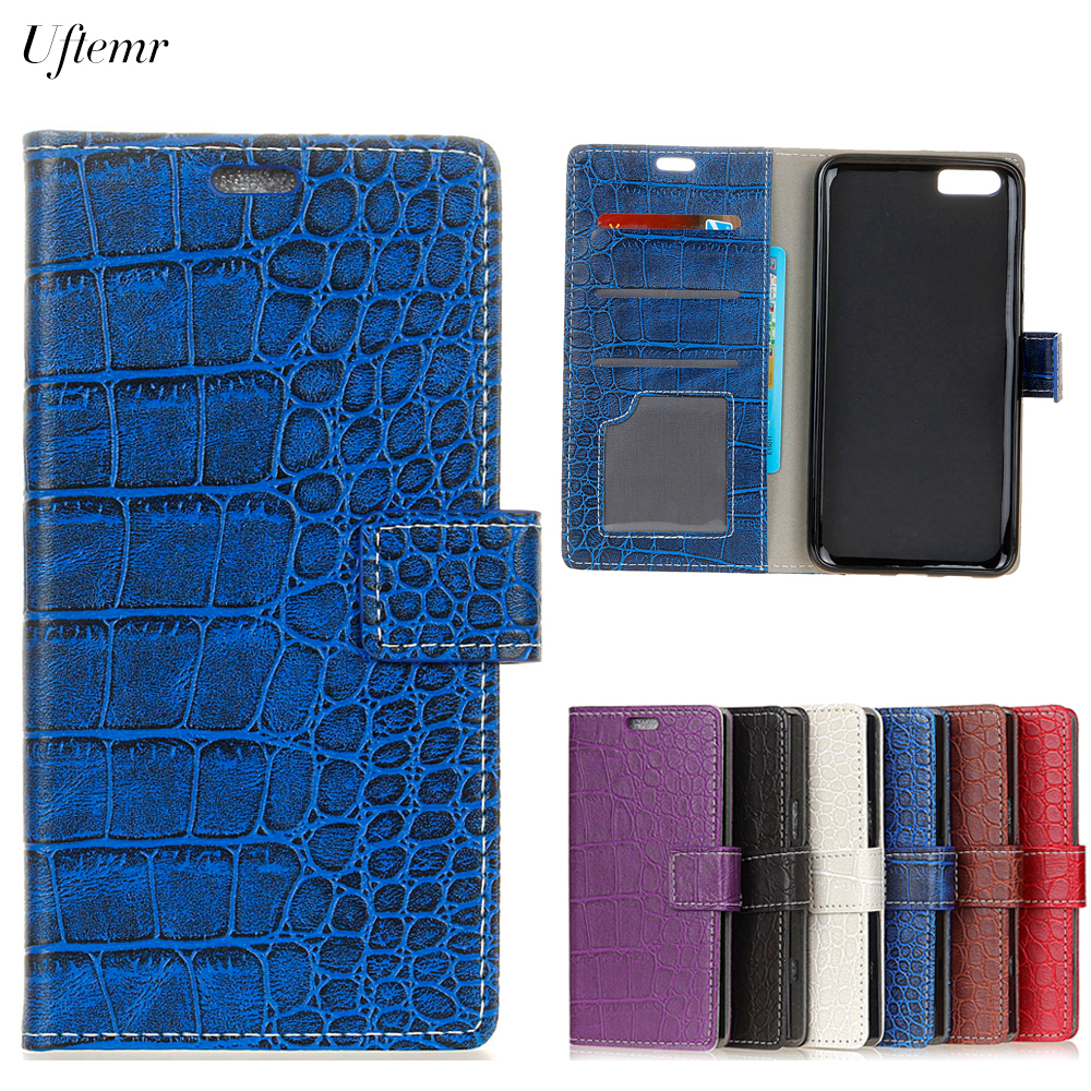 Uftemr Vintage Crocodile PU Leather Cover for Xiaomi Mi Note 3 Silicone Case for Xiaomi Mi Note 3 Wallet Card Slot Acessories