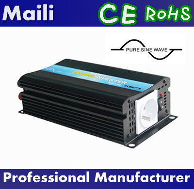CE & RoHS Approved, Pure Sine Wave Off Grid Inverter,DC to AC Micro Solar Power Inverter 600w 24v 220v