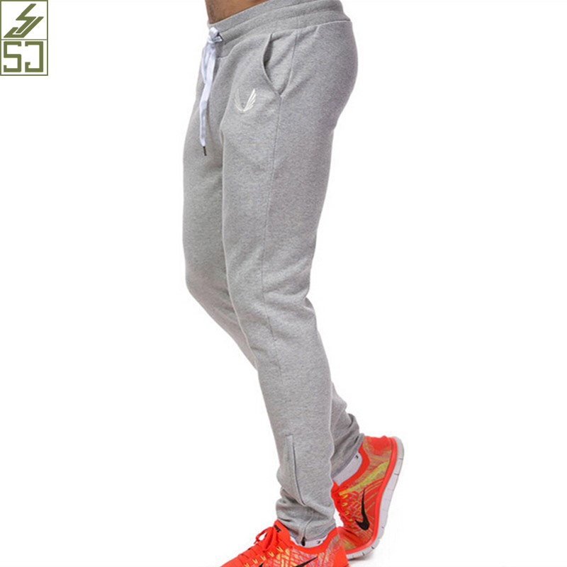SJ 2017 new fashion mens casual pants Top quality Brand clothing sweatpants straight male trousers