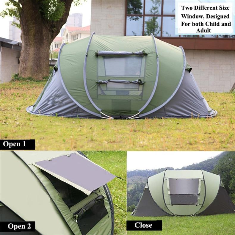 throwing camping tent large 3-4 peson05