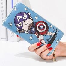 Lady Purses Handbags Zipper Women Wallets Clutch Coin Purse Cards ID Holder Long Woman Cartoon Brand Wallet Money Bags Pocket