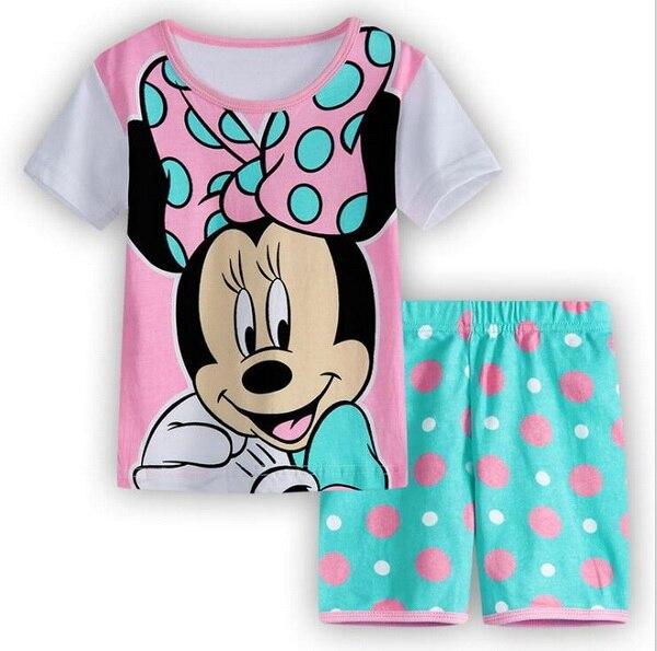 58c3539418f7 Children Summer Pajamas Baby Boy s Girl s Home Clothing Sets Kids ...