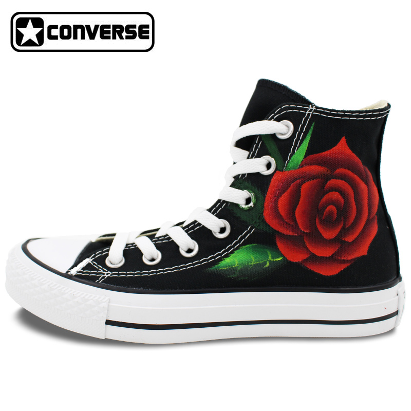 aliexpress   buy women men sneakers red roses converse