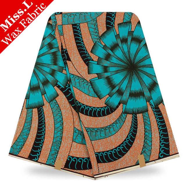 Miss L Most popular design veritable wax hollandais guaranteed dutch wax african wax prints fabric super wax hollandais 6 yards