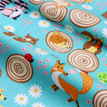 151211164 ,  50cm*150cm Cute animal cartoon cotton fabric,diy handmade patchwork cotton cloth home textile Free shipping