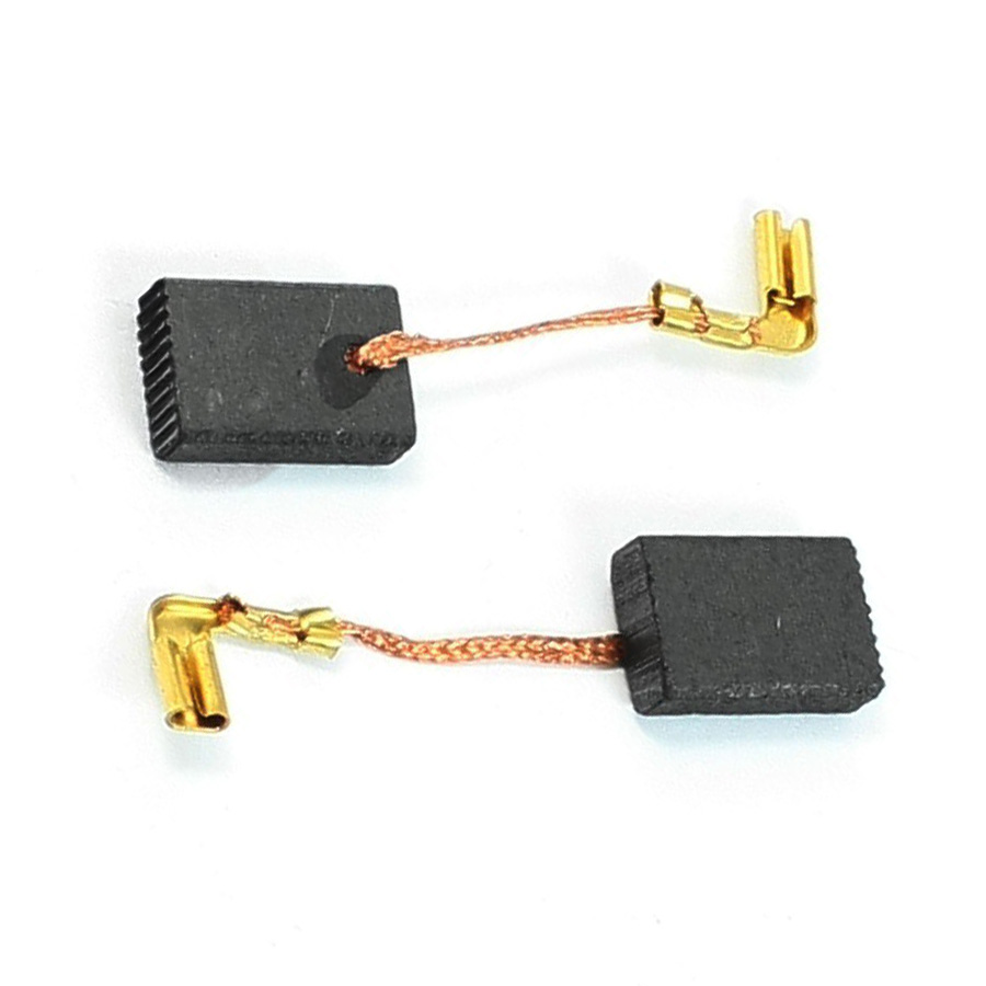 New 2Pcs 16mm X 11mm X 5mm Motor Electric Carbon Brushes For Makita 9553NB