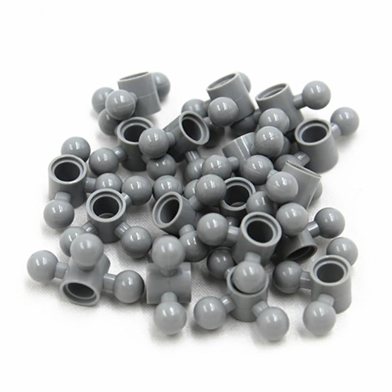 MOC Technic 10pcs Technic BEAM 1M WITH 3 BALLS DIA5,9 Compatible With Lego NOC6055629