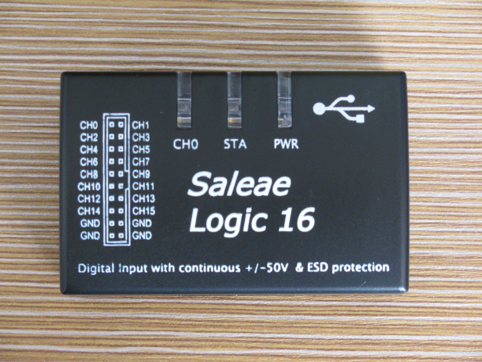 Saleae USB Saleae16 100M Logic Analyzer Supports Official Version Of The Software
