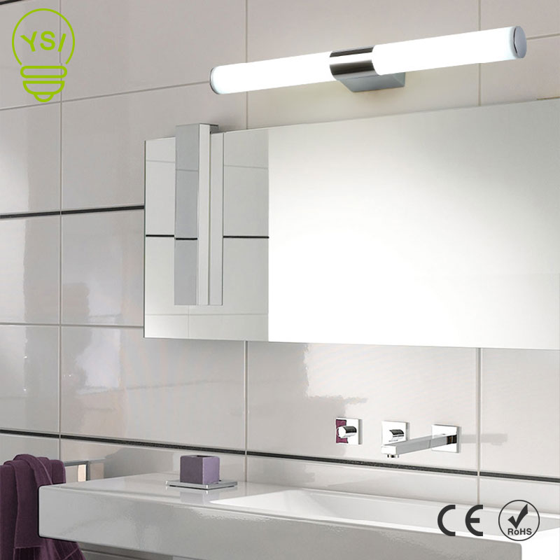 Wall Lamp 12W 16W 22W 85-265V Led Mirror Light Waterproof LED Tube Modern Acrylic Wall Light Bathroom Lighting(China)