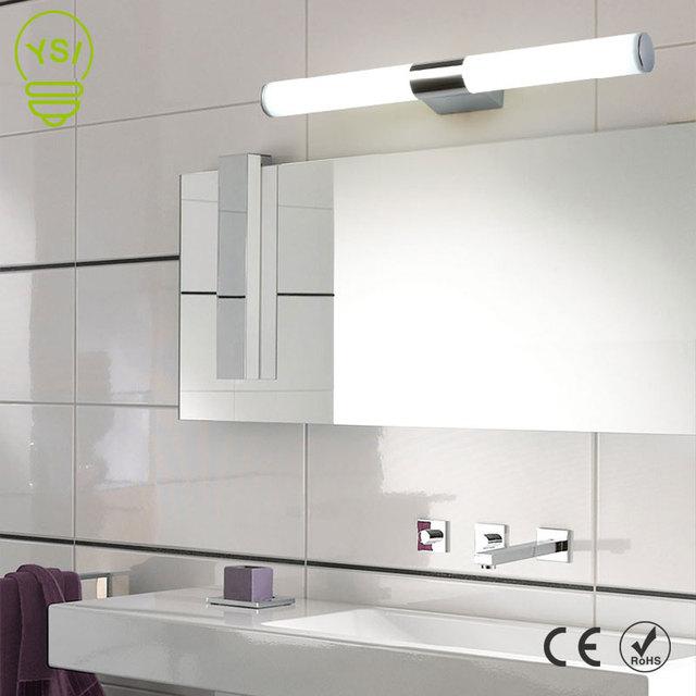 Настенный светильник 12 Вт 16 Вт 22 Вт 85-265 в, светодиодный зеркальный светильник, водонепроницаемая светодиодная трубка, современный акриловы...