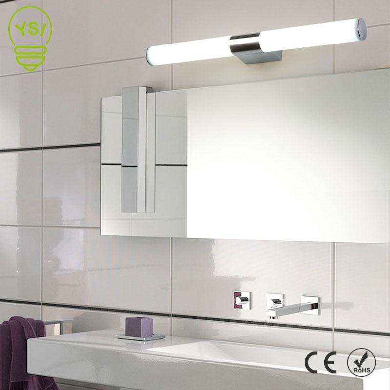 Us 9 79 20 Off Wall Lamp 12w 16w 22w 85 265v Led Mirror Light Waterproof Modern Acrylic Bathroom Lighting In Indoor
