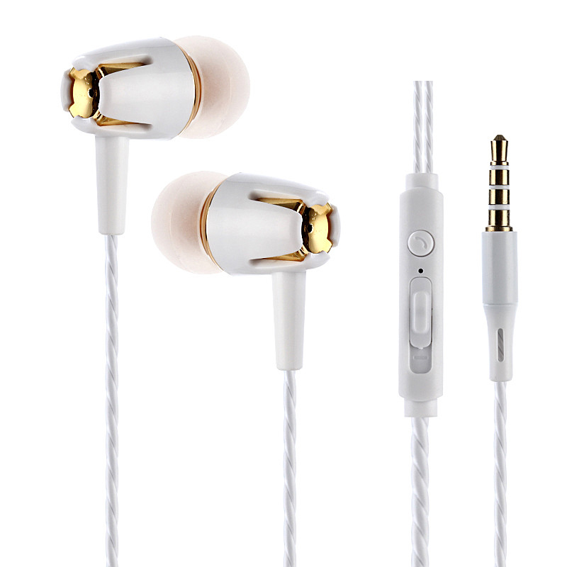 3.5mm Portable Earphones JY-346 Sports In-Ear with Microphone Super Bass Earbud Headset for iPhone Samsung Xiaomi MP3 Player original xiaomi mi hybrid earphone in ear 3 5mm earbuds piston pro with microphone wired control for samsung huawei p10 s8