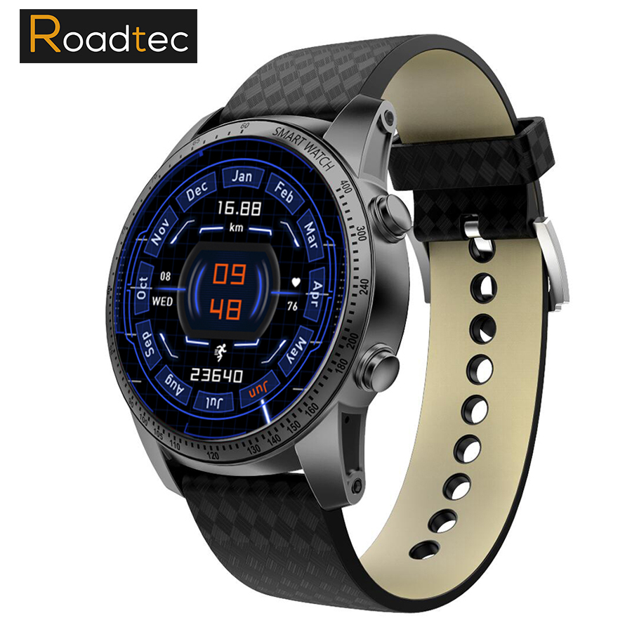 ROADTEC PW161 Smart montre Bluetooth android 5.1 GPS sport Smartwatch Hommes Femmes Montre sim carte moniteur de fréquence cardiaque montre smart watch