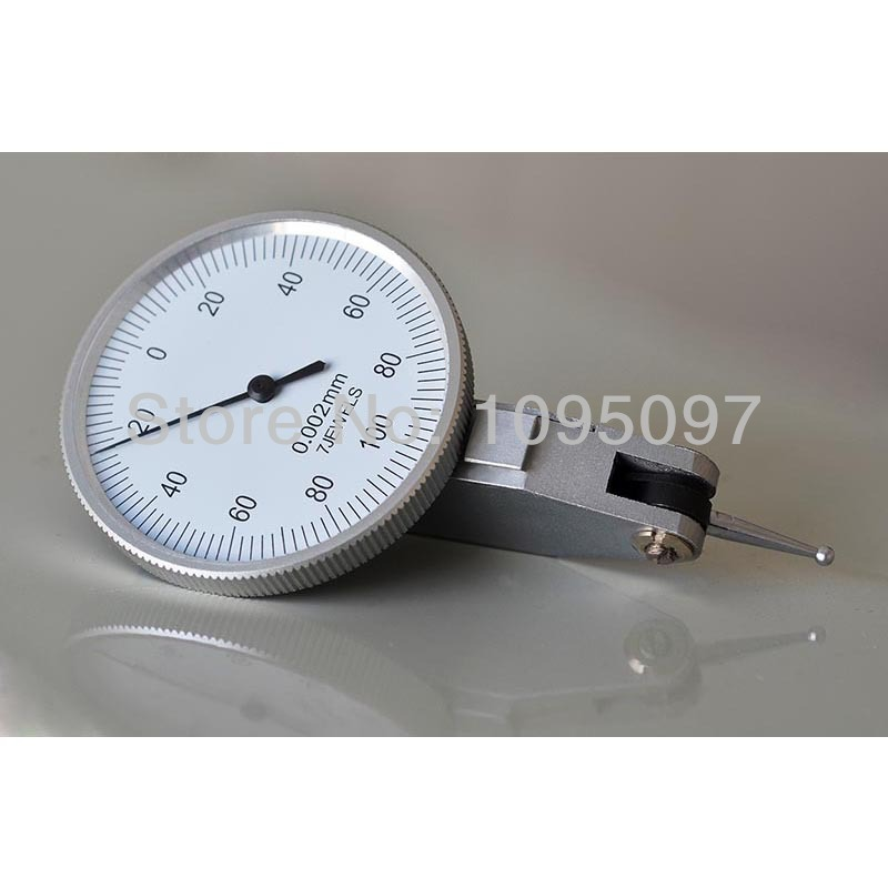 Image 3 - 0 0.2mm Lever Dial Test Indicator Precision Dial Indicator Lever Dial gauge 0.002mm  dial test  holder indicator-in Dial Indicators from Tools