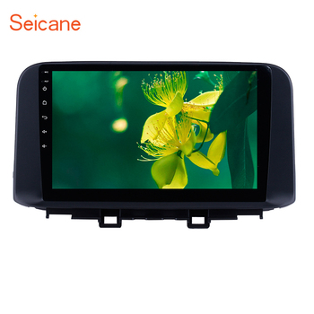 Seicane 10.1 Android 8.1 Car Multimedia Player GPS radio For 2018 2019 Hyundai ENCINO Kona/Tucson Bluetooth support Carplay image