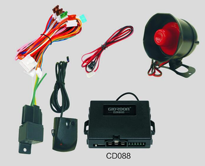 Universal Car Alarm Security System With