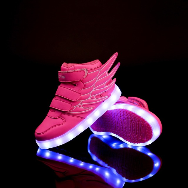de6682ac2aa3 Kids Shoes Basketball Children Air Ultras Shockproof JD JS Wings 3.0  Trainers All Athletic Boost Nmd LBJ Max Star Led Sneakers