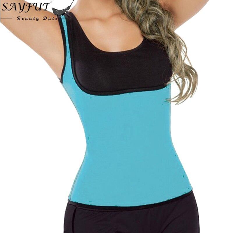 2f1c10edd0 Women Waist Trainer Corset Shapers Slimming Sweating Exercise Zipper  Neoprene Vest Body Shaper Fat Burne-in Waist Cinchers from Underwear    Sleepwears on ...