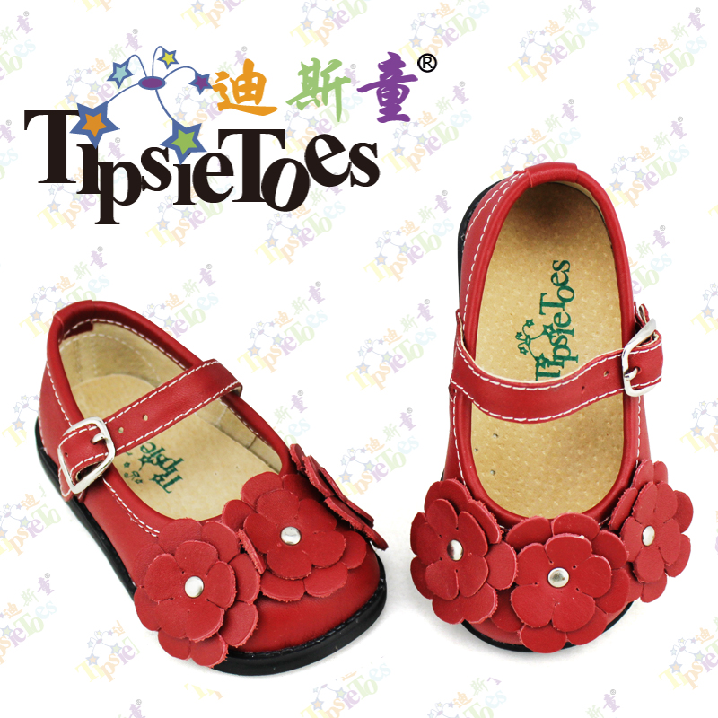 цены  TipsieToes Brand High Quality Big Flowers Pattern Kids Children Sandals Shoes For Girls Princess New 2017 Summer Autumn A62007