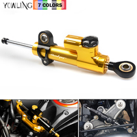 Motorcycle CNC Universal Steering Dampers Stabilizer For HONDA CB600F CB 600F HORNET 2007 2016 2013 2014