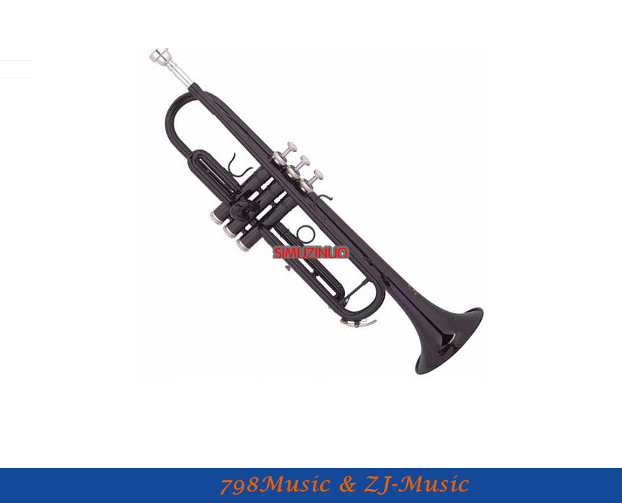 Bb Trompet Entry Model Met Case-Bore Grootte 11.65mm-Bell DIA.123mm - Muziekinstrumenten