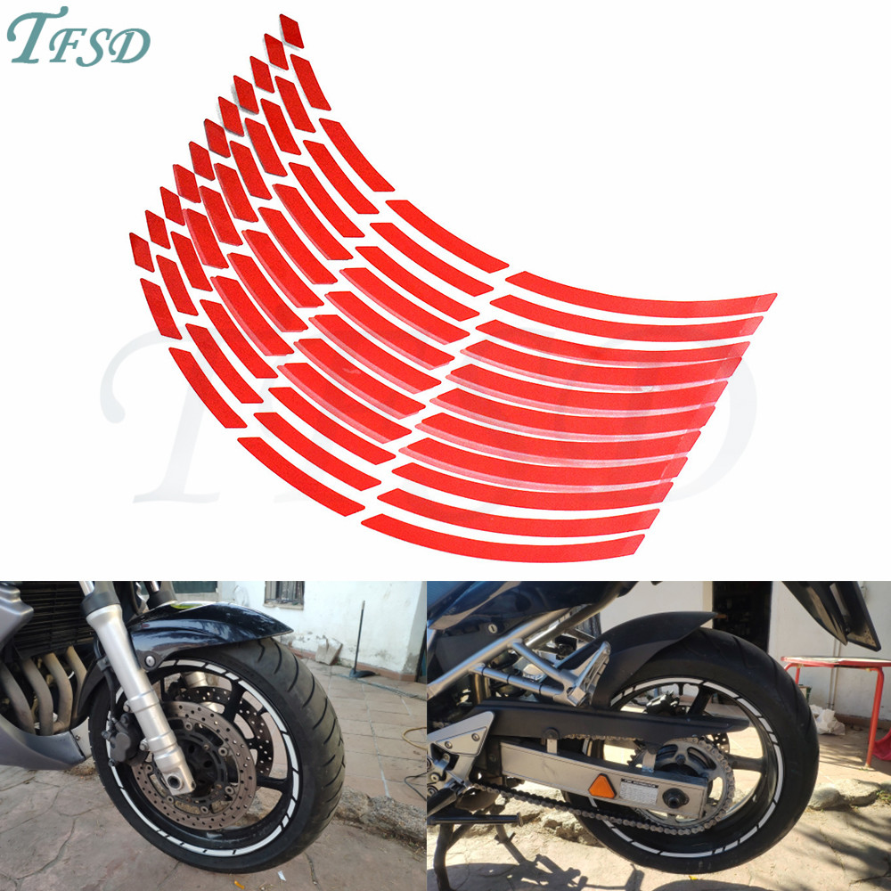 Car Motorcycle Tire Rim Stickers 17