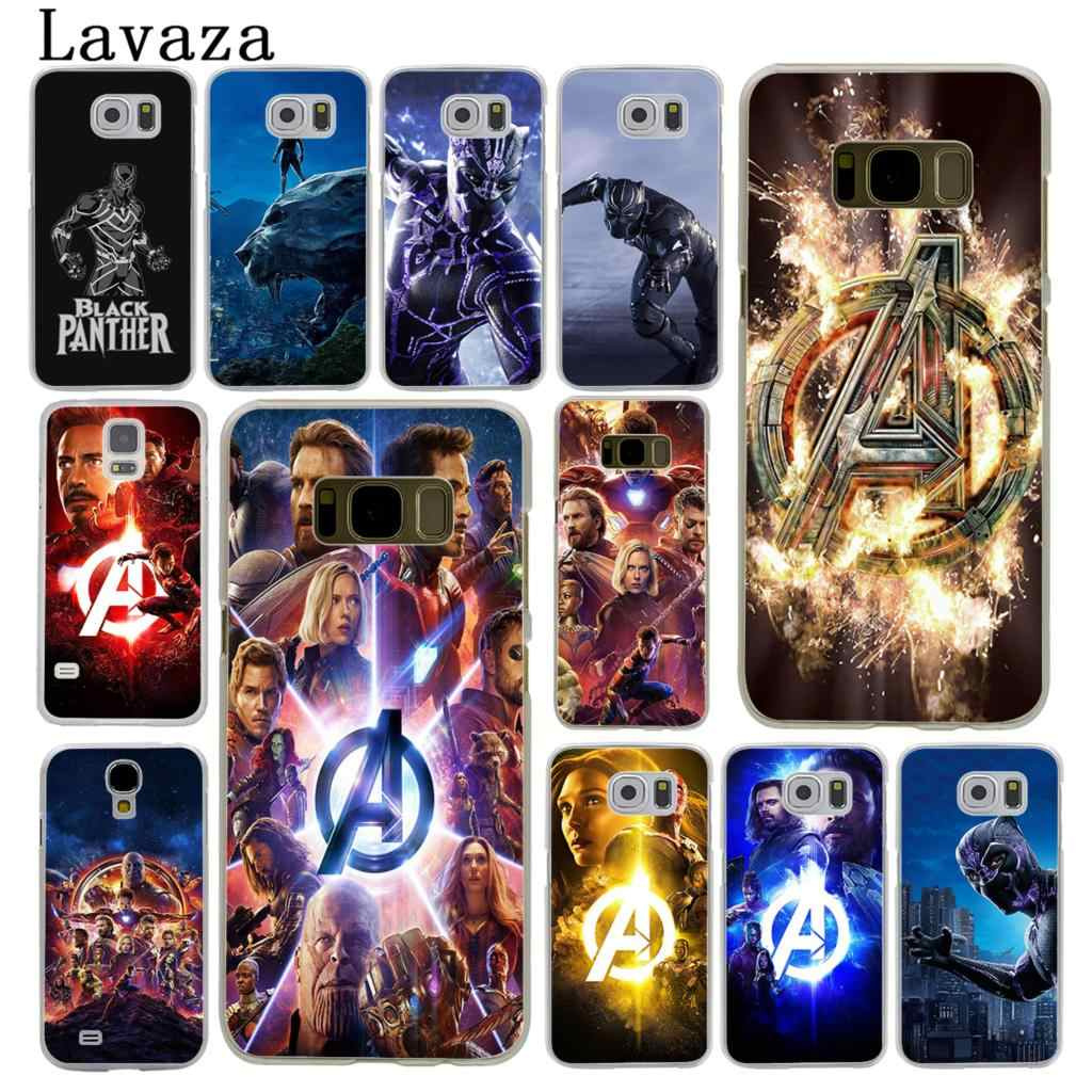 Lavaza The Marvel Avengers Infinity War Phone Case for Samsung Galaxy S10  S10E S8 Plus S6 S7 Edge S9 Plus Thanos Black Panther