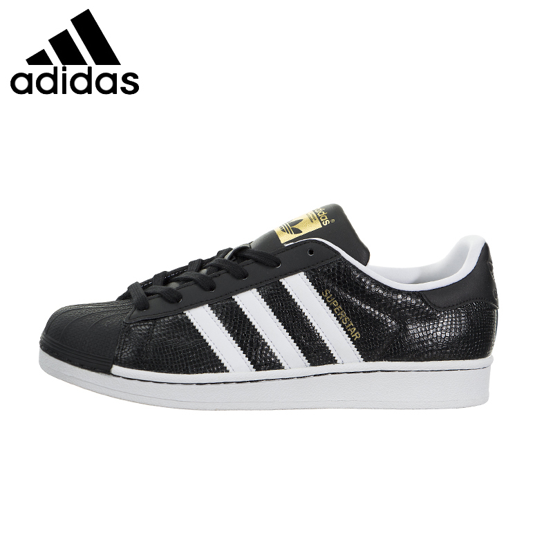 ADIDAS Superstar Original Womens Skateboarding Shoes Breathable Light Weight Quick-Drying Stability Sneakers For Women Shoes shanghai kuaiqin kq 5 multifunctional shoes dryer w deodorization sterilization drying warmth