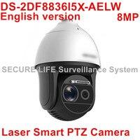HIKVISION DS 2DF8836I5X AELW 4K Laser Smart CCTV IP PTZ Camera POE 4K 8MP With Wiper