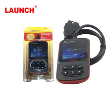 Original Launch Creader 6+ CReader VI+ CReader VI Plus support JOBD OBD code scanner Free shipping(China)