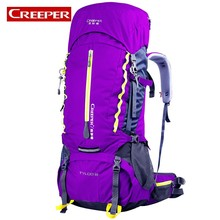 2018 New 60L Capacity Sports Bag Waterproof Outdoor Trekking Camping Backpack For Women Men Climbing Travel Tactical Backpack